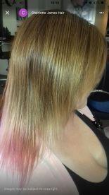 Charlotte James hair