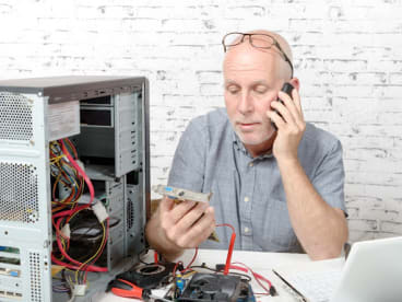 Electronics Repair Shop