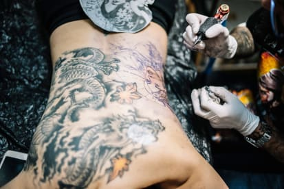 Rock tattoo studio