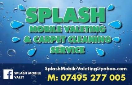 Splash Mobile Valeting & Carpet Cleaning Service