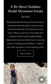 Model Amata Hathor Models