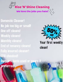 Rise 'N' Shine Cleaning