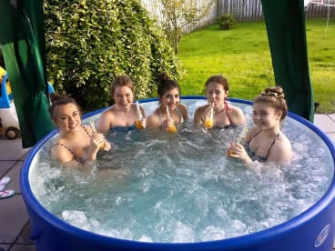 Better Call Doll Hot Tub Hire