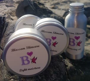 Blossom Skincare And Candles