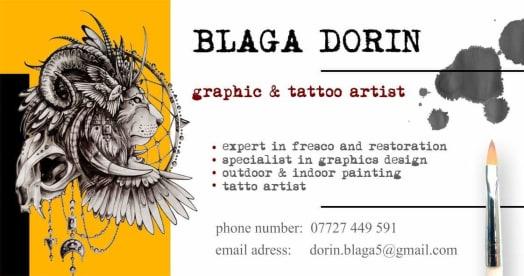 Graphic Designer & Tattoo Artist