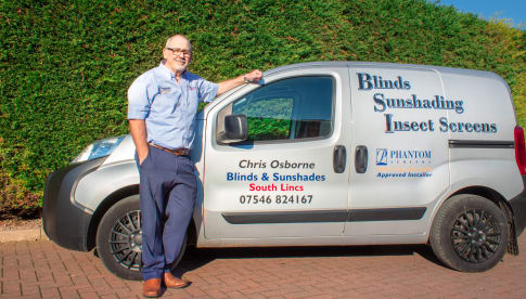 Blinds - Sunshades and Insect Screens South Lincs.