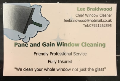 Pane and Gain Window Cleaning