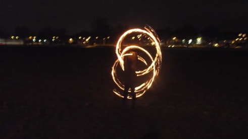 Spin4Fun Nottingham Fire Spinning Group