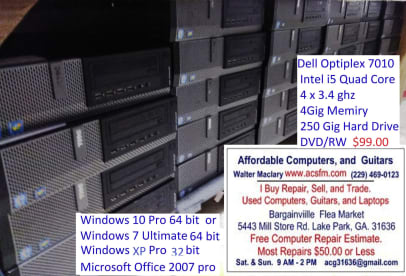 Affordable Computers & Guitars