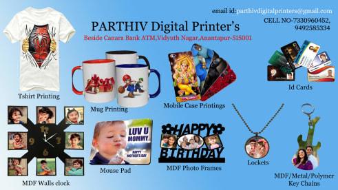 Parthiv Digital Printers