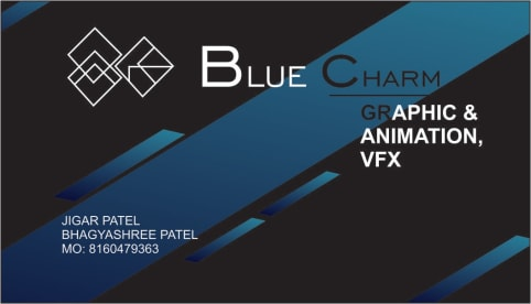 Blue Charm Graphic