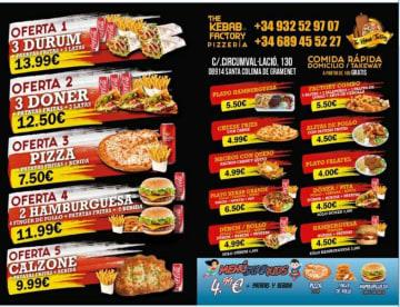 Pizzería Kebab Factory
