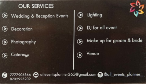 All Events Planner