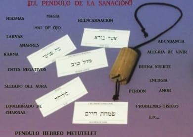 Péndulo Hebreo Y Tarot