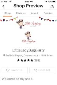 Little Ladybugs Party Place