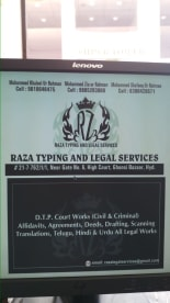Raza Typing & Legal Services