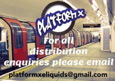 Platform x e-liquid