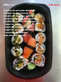 Más que Pollo Sushi