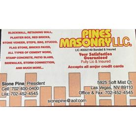Pines Masonry