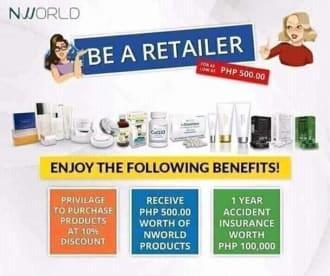 Rain Supply. NWorld Nlighten, Skin Magical, Sante Barley and Pinoy Products