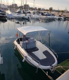Rent a boat Orihuela Coast