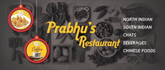 PRABHU'S RESTAURANT