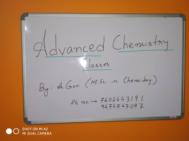 Advanced Chemistry Classes