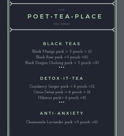 Poet Tea Place