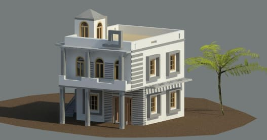 3D Home Of Architectures