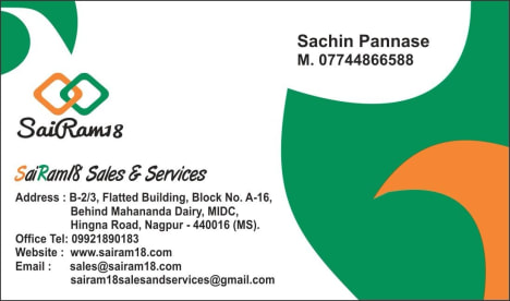 SaiRam18 Sales and Services