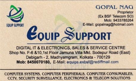 Equip Support Kolkata