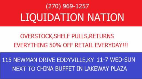 Liquidation Nation Surplus Store