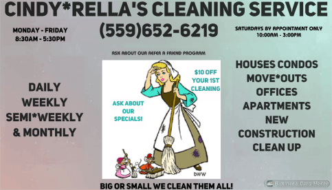 Cindy*Rella's Cleaning Service