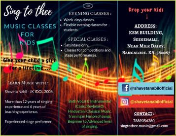 Singtothee: Music Academy