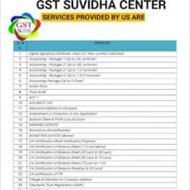 Government Authorised GST Suvidha Center