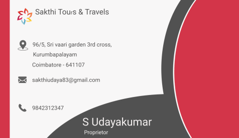 Sakthi tours and travels