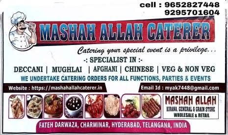 Mashah Allah Caterer