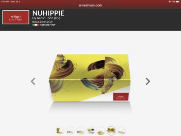 Nuhippie Shoes