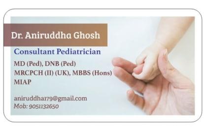 Dr. Aniruddha Ghosh