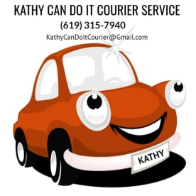 Kathy Can Do It Courier