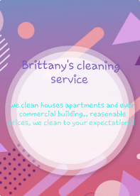 Brittany's Cleaning Service