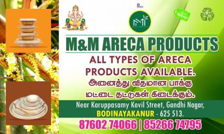 M&M Areca Products