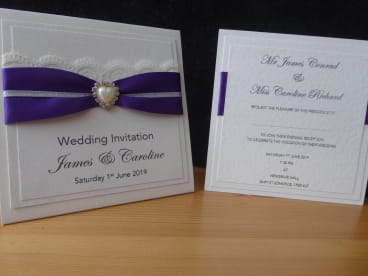 Blinking Owl  Designs Wedding Stationery