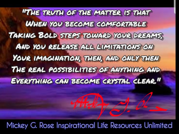 Mickey G. Rose Inspirational Life Resources Unlimited