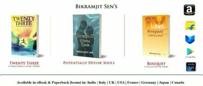 Author Bikramjit Sen