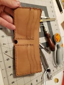 MCM Leather
