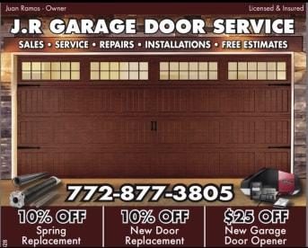 Jr Garage Door Service LLC