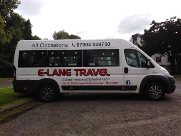 E-Lane Travel  - dependable cheap minibus hire
