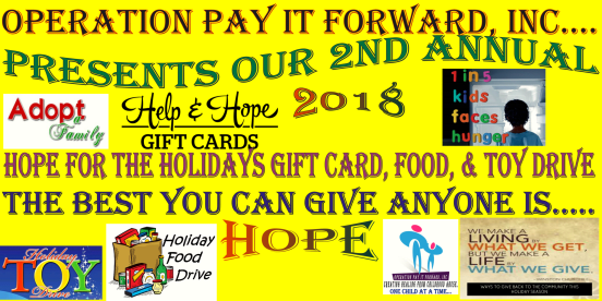 Operation Pay It Forward, Inc
