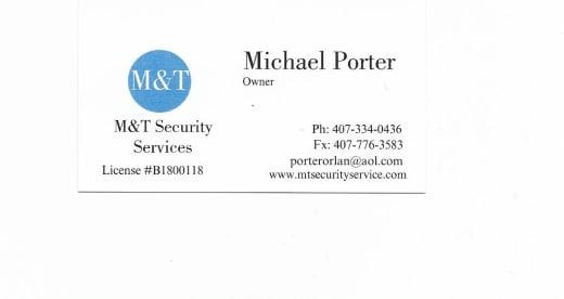 M&T Security Service